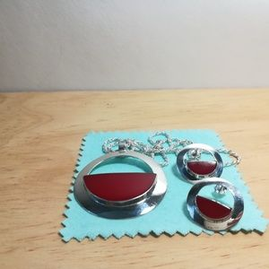 Jewelry - Vintage sterling silver set made in Mexico